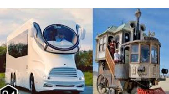 Crazy Motor Homes You Won't Believe Exist In Real Life