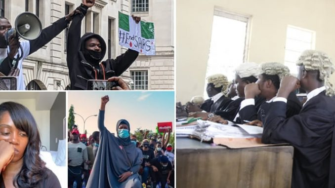 #EndSARS: Abuja Court Orders Magistrate To Stop Case Against Aisha Yesufu, Wizkid, Tiwa Savage, Others