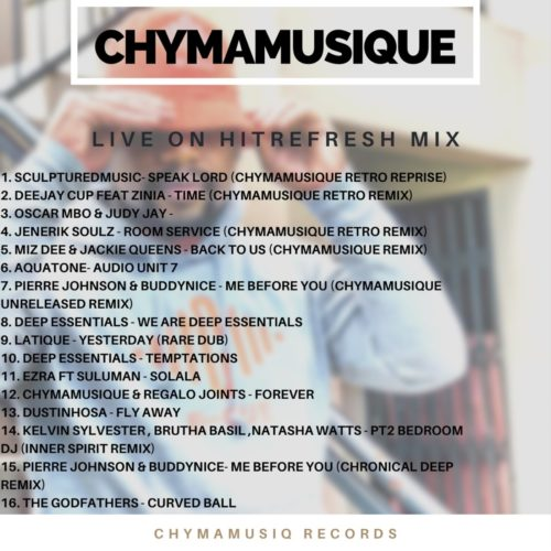 DOWNLOAD Chymamusique – Live On Hitrefresh MP3