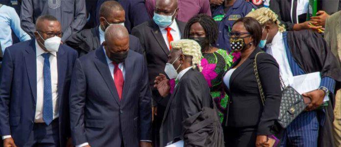 Supreme Court moves election petition case; grants NDC's motion for amendment