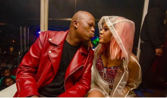 Babes Wodumo shares before and after picture of herself with Mampintsha