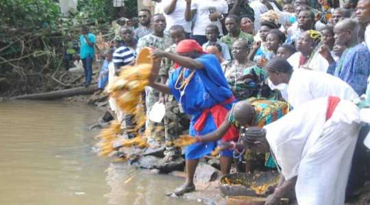 Festival of OSUN, Yoruba Goddess Of Water And Fertility
