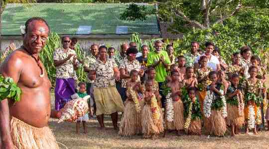 How Brave! In Fiji, A Man Must Present A Whale's Teeth To His Father-In-Law In Other To Seek His Daughter's Hand In Marriage