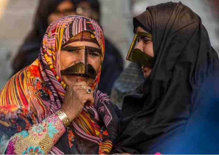 REVEALED!!! Ever Heard Of The Mysterious Masked Women Of Iran? Find Out Here