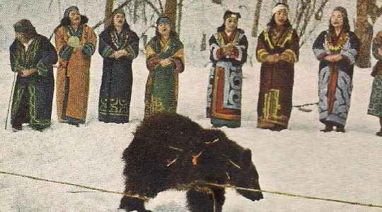 MUST READ! Inside The Japanese Tribe That Worship Bear As Their God