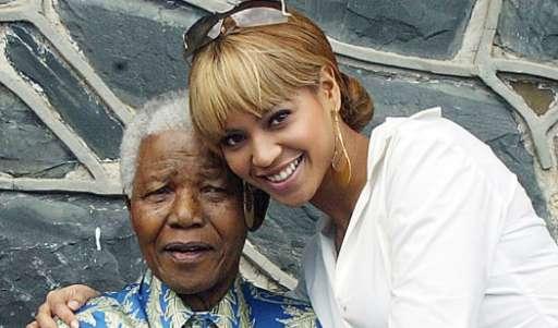 Read The Heartfelt Letter Beyoncé Wrote To Nelson Mandela
