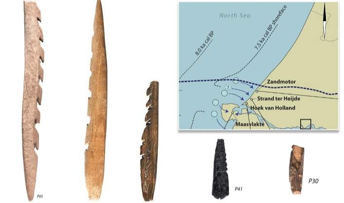UNBELIEVABLE!!! See These Stone Age Weapons From The Netherlands, Made From Human Bone