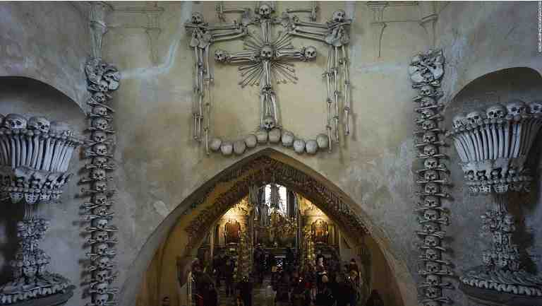 "HORRIFIC!!! See Where Over 1,000 Skeletons Discovered During The Renovation Of ""Bone Church"""