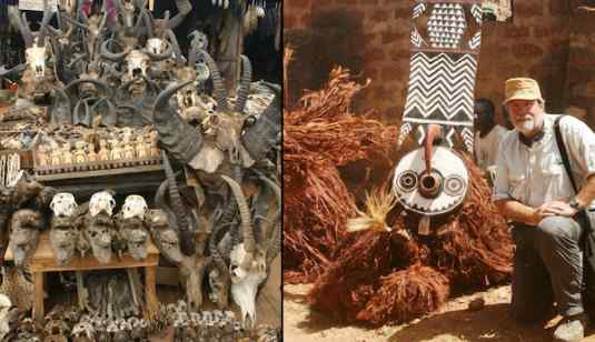 Inside The Scary Voodoo Market In Togolese Where You Can Get Fetish Traditional, Spiritual Charms