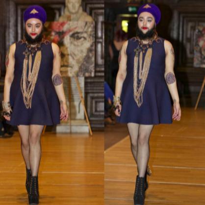 HARNAAM KAUR: Meet The First Bearded Woman Ever In Fashion History