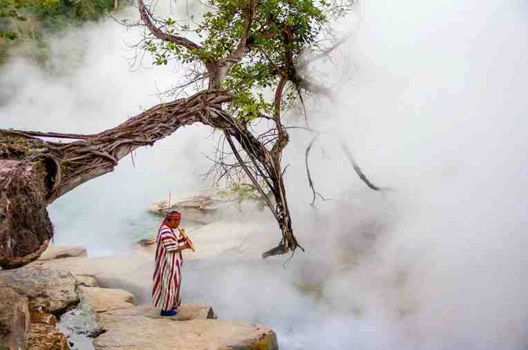 STRANGE!!! See How This Legendary River Boils & Kills Everything That Falls Into It