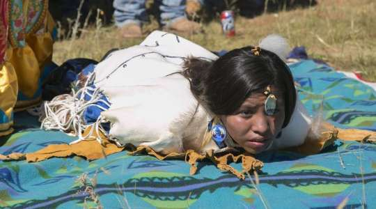 INTERESTING! See The Apache Ritual Where A Girl's First Menstruation Is Considered A Healing Power