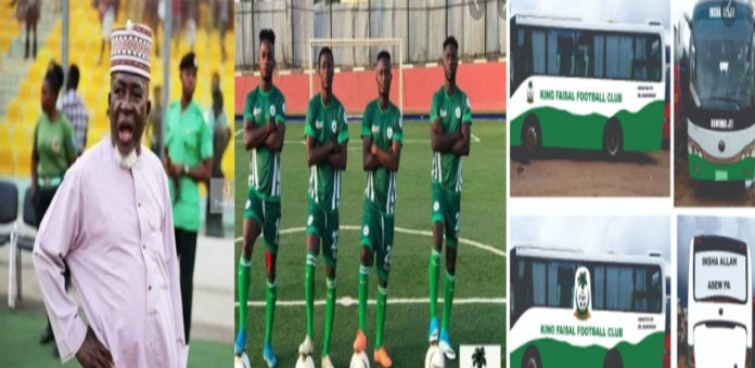 Alhaji Grusah finally puts King Faisal FC on sale with a price tag $2m
