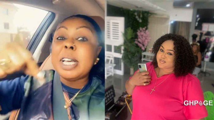 Afia Schwar comes for Vivian Jill; threatens to expose who her real baby daddy is