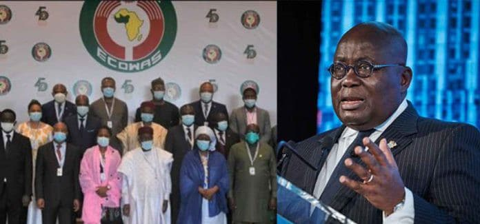 President of Ghana, Akufo Addo has been reelected as ECOWAS chairperson