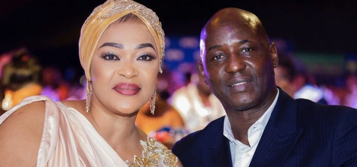 Kalsoume Sinare shares rare pictures of her husband and sons