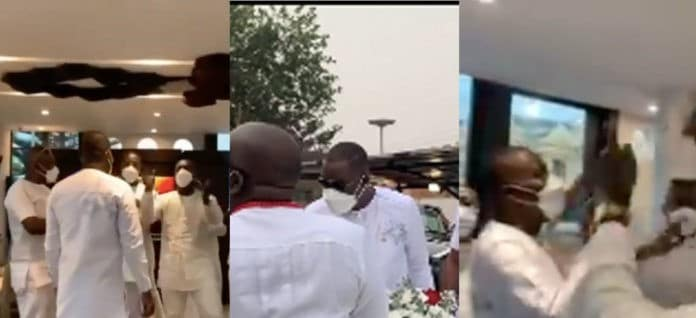 Family and friends surprise Kwame Despite as he celebrates his birthday (VIDEO)