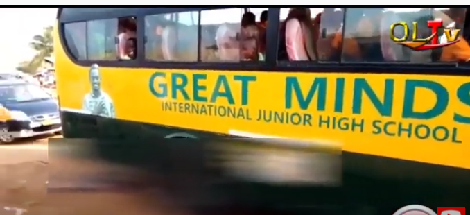 Lil win's school bus ran a 5 year old girl down