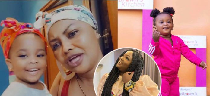 Baby Maxin and Mcbrown sings  Roselyn Ngissah as she celebrates her birthday ; celebrities react