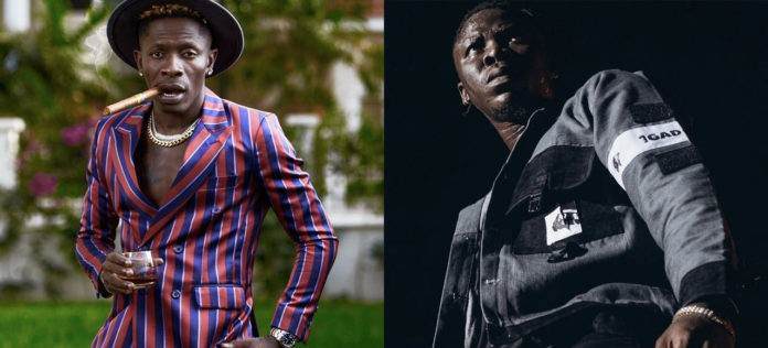"""There is only 1GAD; so many kings and dons- Stonebwoy trolls Shatta for claiming to own the """"1"""" trend"""