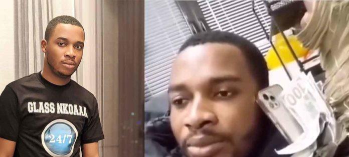 Twene Jonas shows off wads of cash in new video