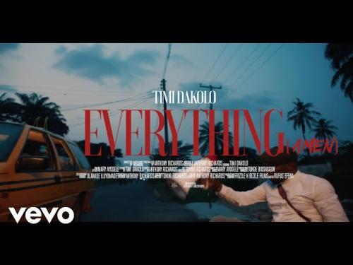 VIDEO: Timi Dakolo – Everything (Amen) | mp4 Download