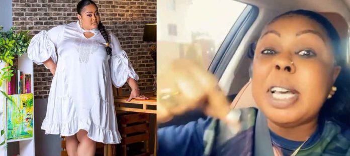 Vivian Jill is living in a rented apartment even after becoming a married man baby mama – Afia Schwar