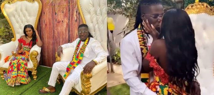 My husband's penis larger than what Ghanaians saw – Wisa Greid's wife