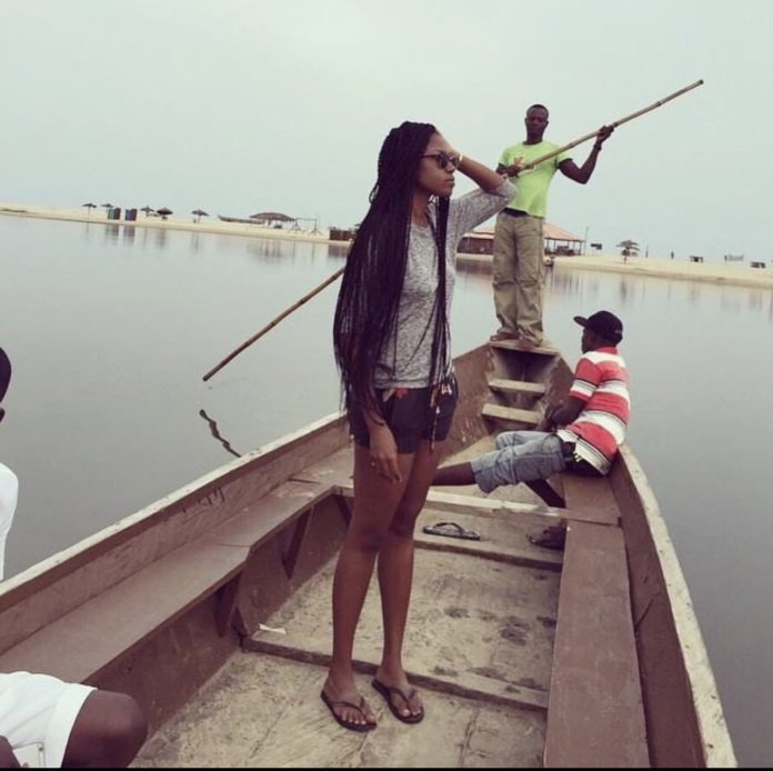 Yvonne Nelson throws shades while sharing a throwback photo of herself