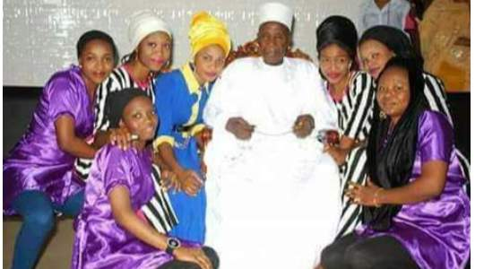 Meet The Nigerian Man Who Married 120 Wives, See How He Did It