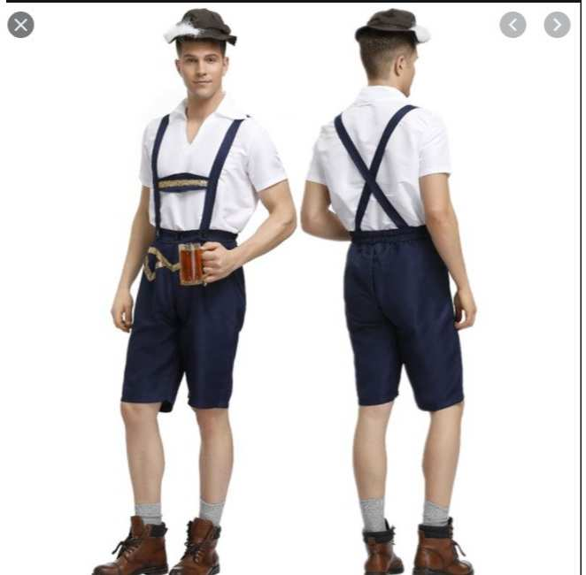 See The Amazing Lederhosen German Fashion Common For The Males- Trust Me You Have To See This!!