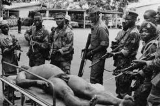 SAMULE DOE: How Liberia's First Indigenous President Was Tortured, Stripped Naked And Publicly Humiliated