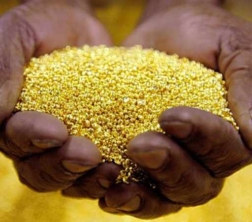 GOLD LIKE DUST! See The African Country Which Is Mostly Endowed With Gold And Diamond Resources Amongst Others