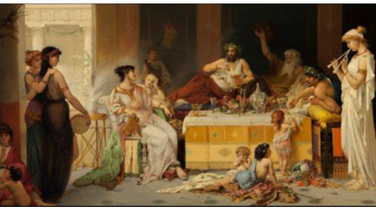 STRANGE! Romans Still Feed Their Dead Food & Wine Throughout The Year
