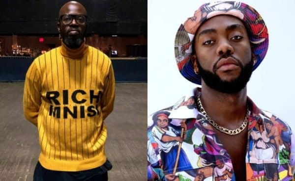 Black Coffee defends Rich Mnisi against trolls