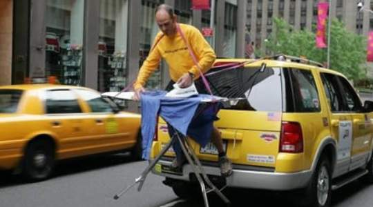 AMAZING!! See How These Guys Took Ironing To The Extreme | They Even Iron Underwater 😲