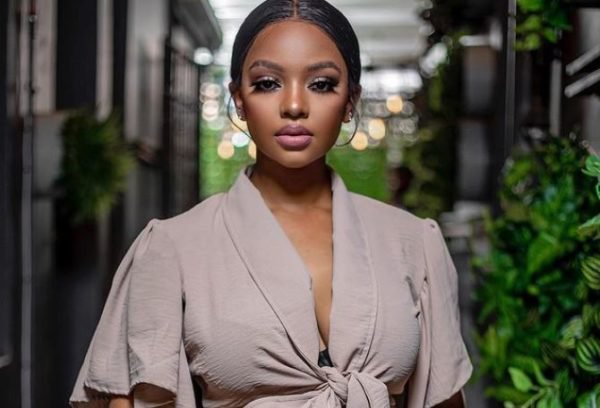 Mihlali Ndamase terrified after a man threatens to shoot her