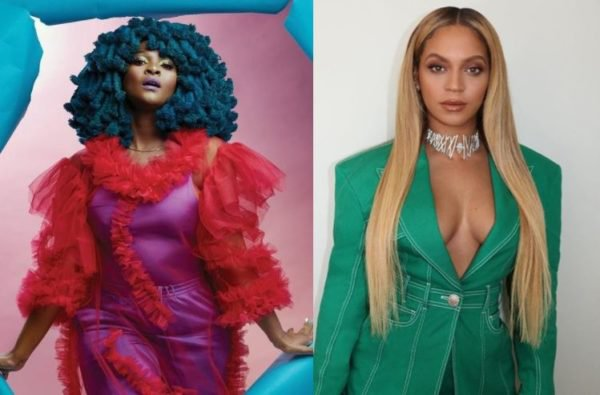 Moonchild Sanelly reminds people she's Beyonce's friend
