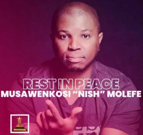 "Skwatta Kamp member, Musawenkosi ""Nish"" Molefe dies from COVID-19 complications"
