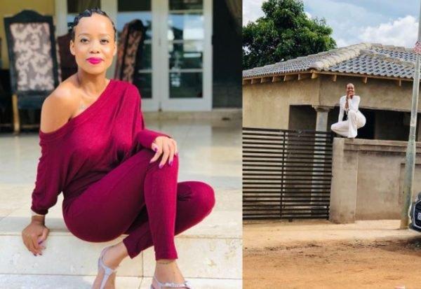 Ntando Duma builds her mother a house – Photos