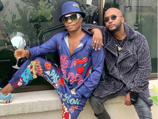 "Vusi Nova goes on a ""young trip"" with Somizi"