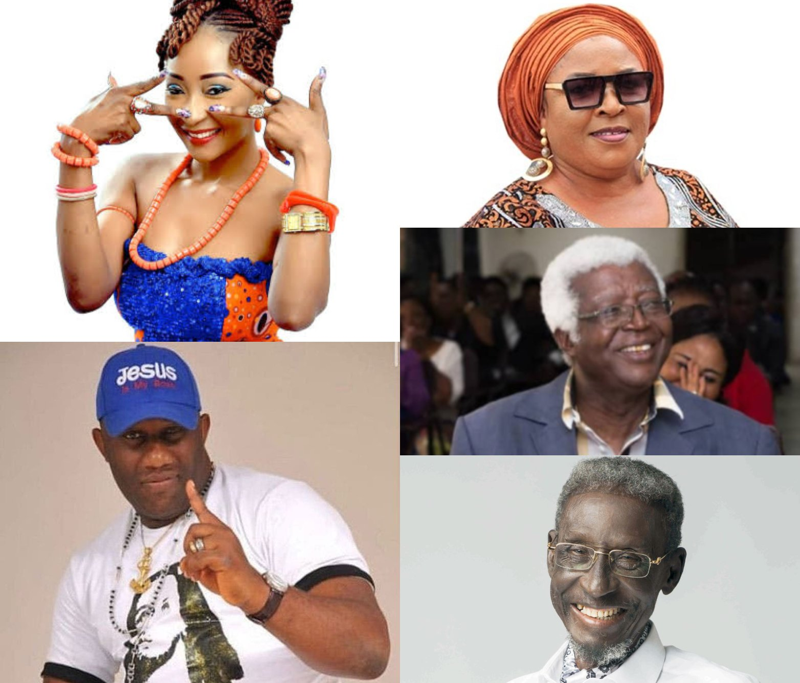 Six Nollywood stars who died in 2021