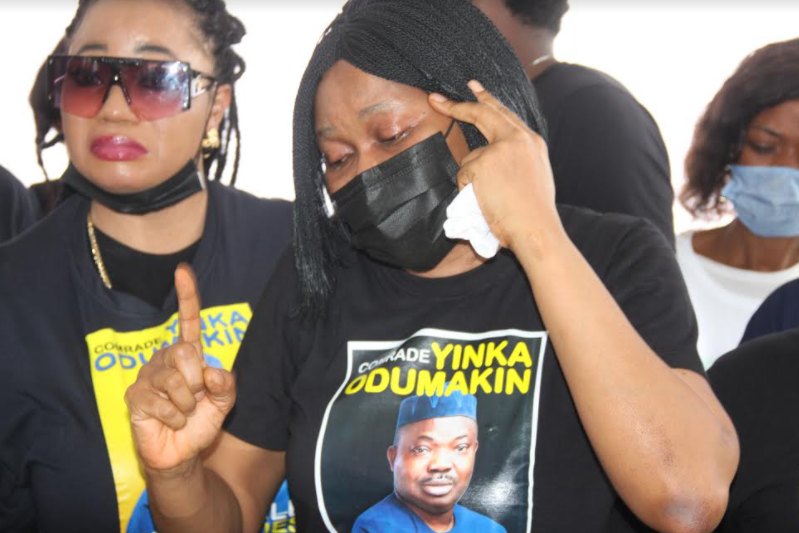 PHOTOS: Lying-in-state of Yinka Odumakin