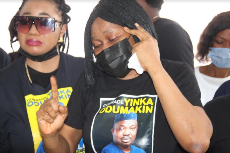 PHOTOS: Lying-in-state of Yinka Odumakin