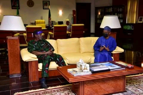 PHOTOS: Adeboye meets El-Rufai in Kaduna