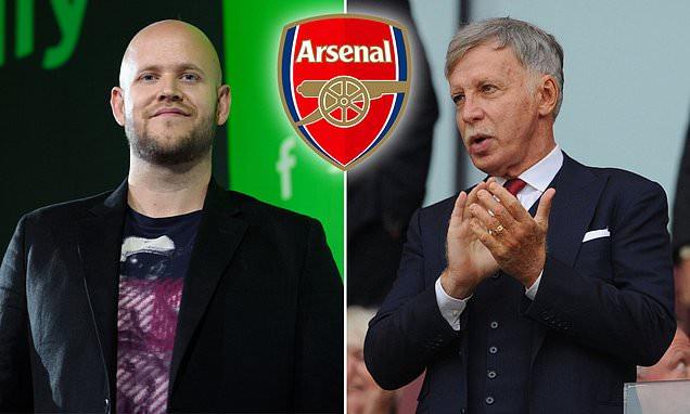 Spotify's Billionaire CEO, Daniel Ek says he has 'secured funds' to buy Arsenal football club from owner Stan Kroenke