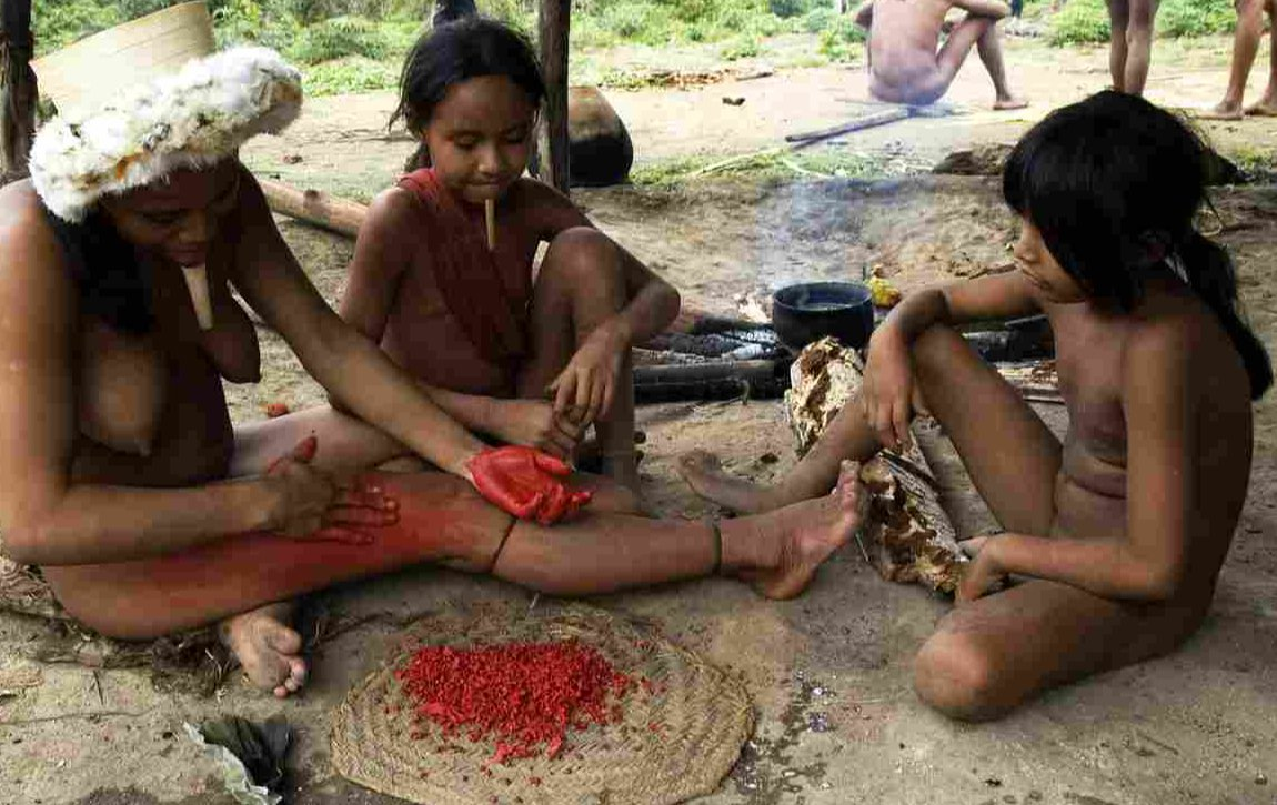 TWISTED POLYGAMY! Meet The Isolated Tribe In Brazil Where Ladies Can Marry Many Husbands 