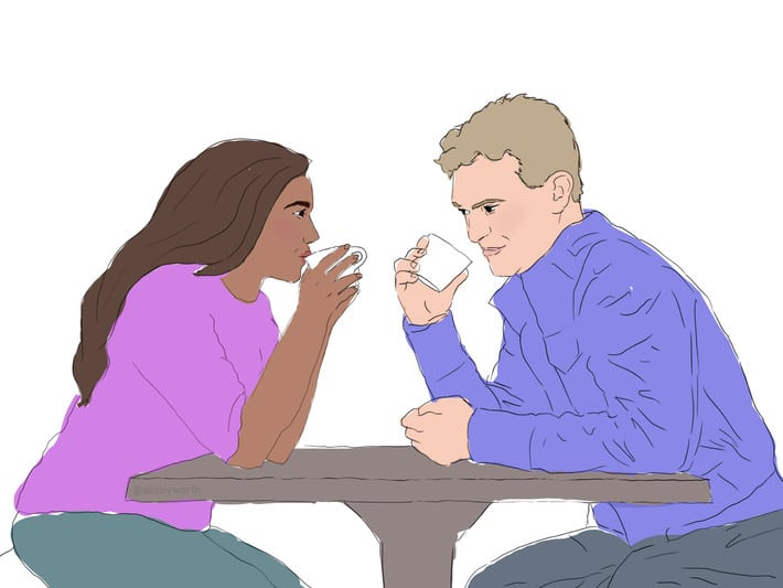 Dear men, check out these 5 ways to make lady develop feelings for you