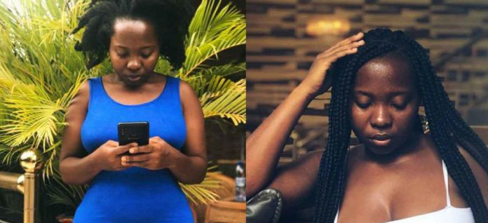 Akua Saucy plans to upload nude photos of the Guy who leaked her own