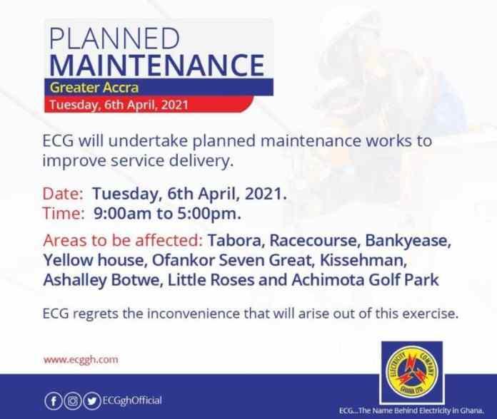 Dumsor: ECG uploads plans for Greater Accra